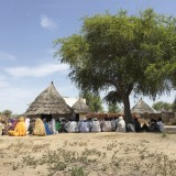 Tearfund media trip to Chad to document the impact of climate ch