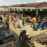 Kivukoni Fish Market in Dar Es Salaam, Tanzania.