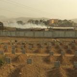 Ebola cemetery, Freetown, Sierra Leone.